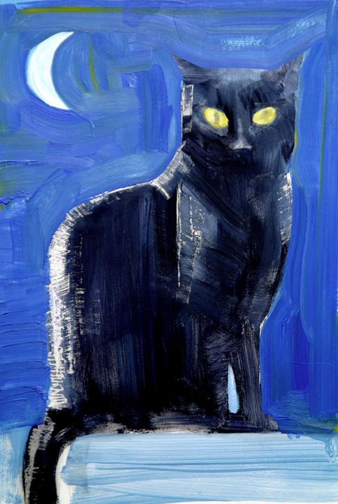Robert hunt, black cat