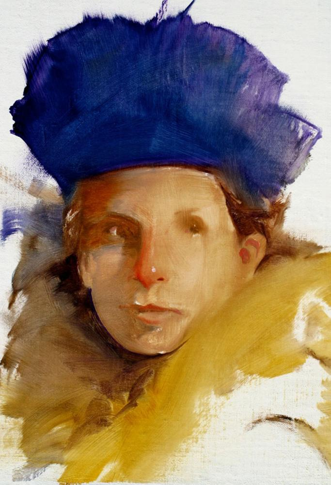 Robert hunt, blue hat