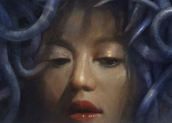 Robert Hunt, painting, medusa