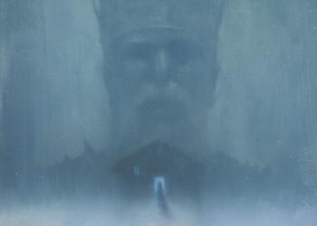 robert hunt, ice king, painting