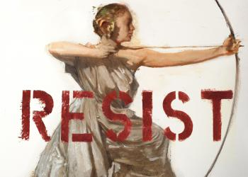 Resistance, robert hunt, protest art, poster, resist